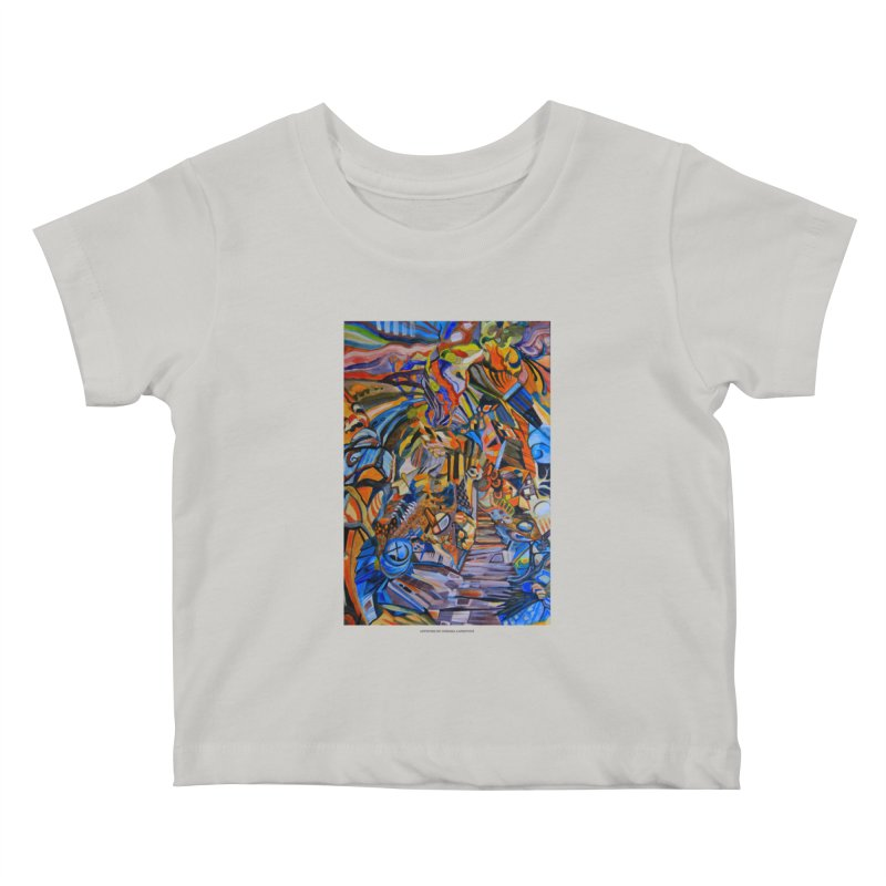 Claustrophobia (Color) Kids Baby T-Shirt by Every Drop's An Idea's Artist Shop
