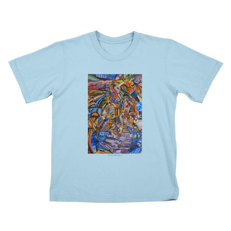 Claustrophobia (Color) Kids T-shirt by Every Drop's An Idea's Artist Shop