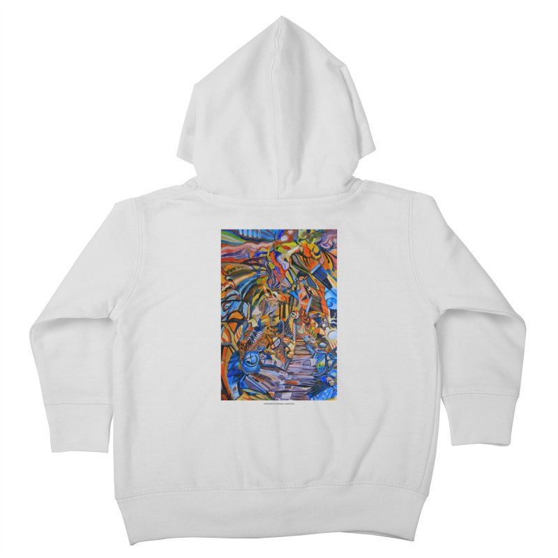 Claustrophobia (Color) Kids Toddler Zip-Up Hoody by Every Drop's An Idea's Artist Shop