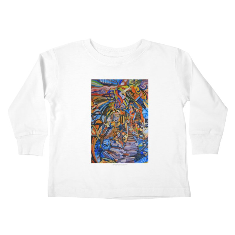 Claustrophobia (Color) Kids Toddler Longsleeve T-Shirt by Every Drop's An Idea's Artist Shop