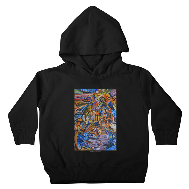 Claustrophobia (Color) Kids Toddler Pullover Hoody by Every Drop's An Idea's Artist Shop