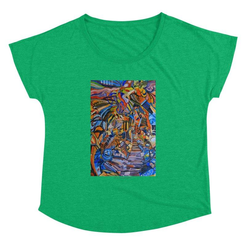 Claustrophobia (Color) Women's Dolman by Every Drop's An Idea's Artist Shop