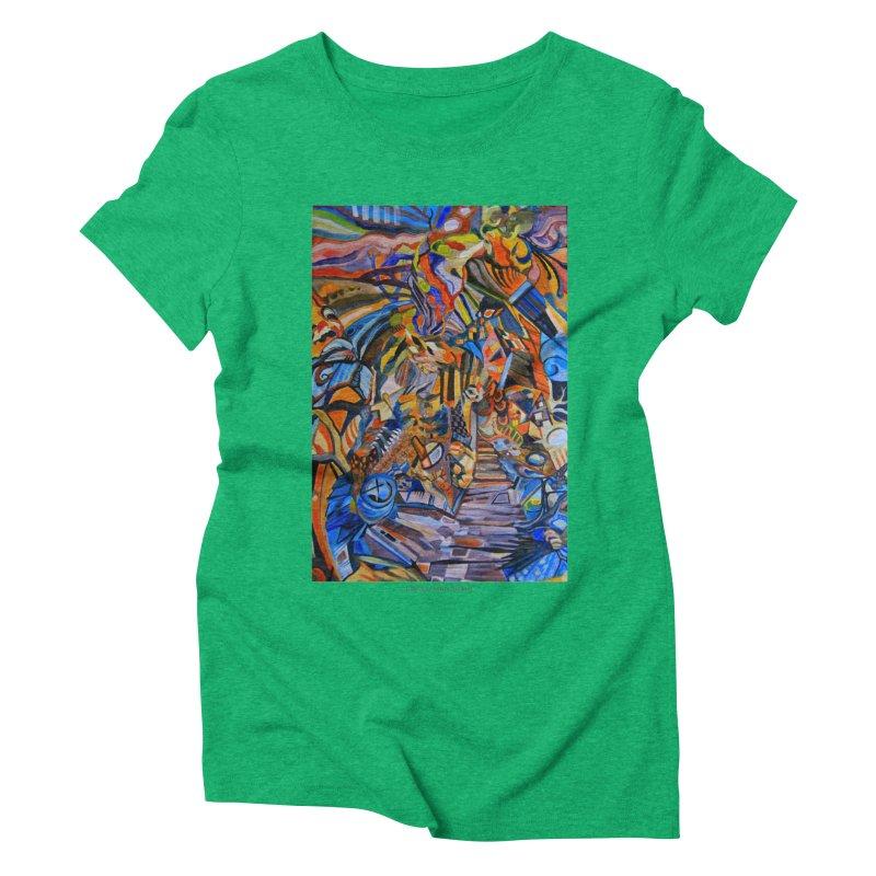 Claustrophobia (Color) Women's Triblend T-shirt by Every Drop's An Idea's Artist Shop