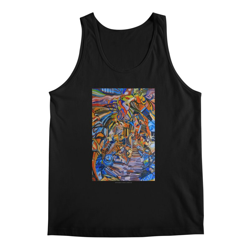 Claustrophobia (Color) Men's Tank by Every Drop's An Idea's Artist Shop