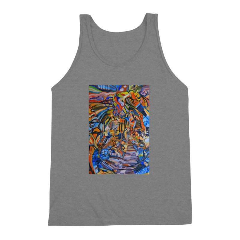 Claustrophobia (Color) Men's Triblend Tank by Every Drop's An Idea's Artist Shop