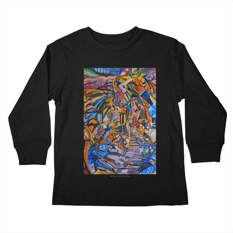 Claustrophobia (Color) Kids Longsleeve T-Shirt by Every Drop's An Idea's Artist Shop