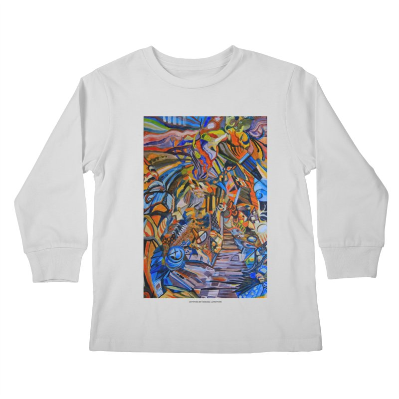 Claustrophobia (Color) Kids Longsleeve T-Shirt by Every Drop's An Idea's Artist Shop