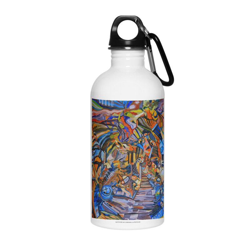 Claustrophobia (Color) Accessories Water Bottle by Every Drop's An Idea's Artist Shop