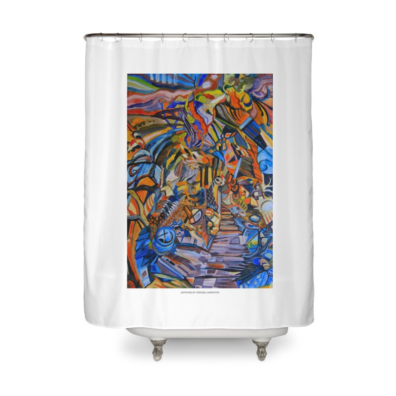 Claustrophobia (Color) Home Shower Curtain by Every Drop's An Idea's Artist Shop