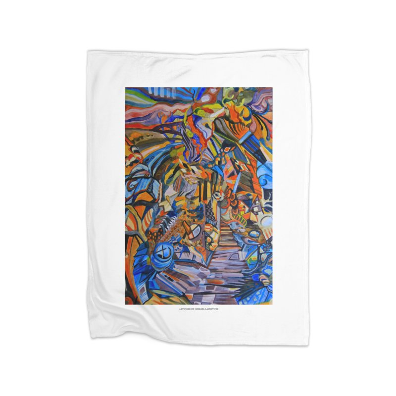Claustrophobia (Color) Home Fleece Blanket by Every Drop's An Idea's Artist Shop