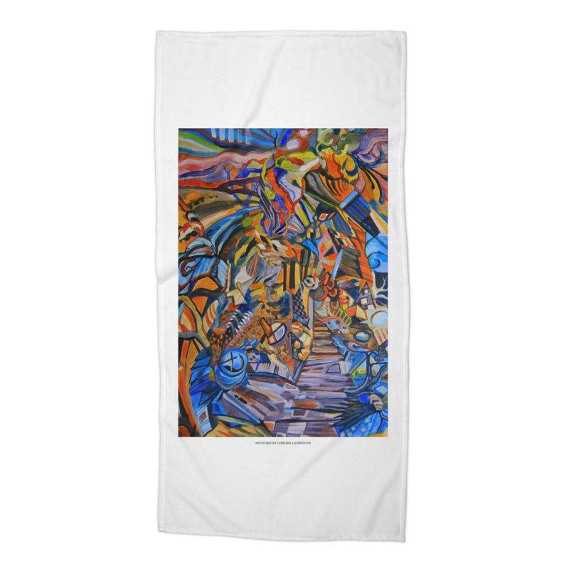 Claustrophobia (Color) Accessories Beach Towel by Every Drop's An Idea's Artist Shop