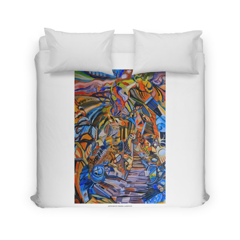 Claustrophobia (Color) Home Duvet by Every Drop's An Idea's Artist Shop