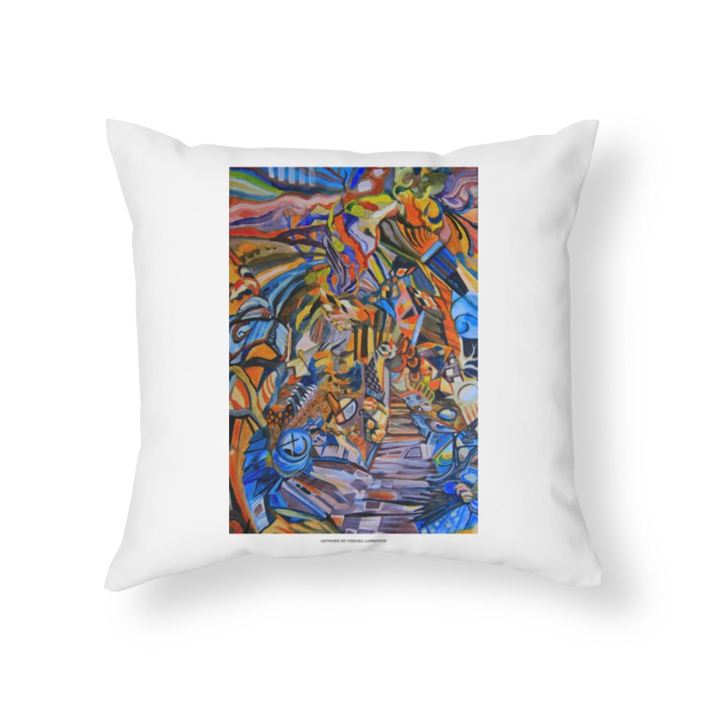 Claustrophobia (Color) Home Throw Pillow by Every Drop's An Idea's Artist Shop