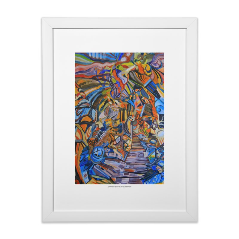 Claustrophobia (Color) in Framed Fine Art Print White by Every Drop's An Idea's Artist Shop