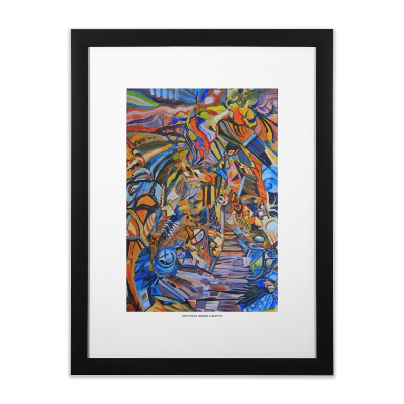 Claustrophobia (Color) Home Framed Fine Art Print by Every Drop's An Idea's Artist Shop