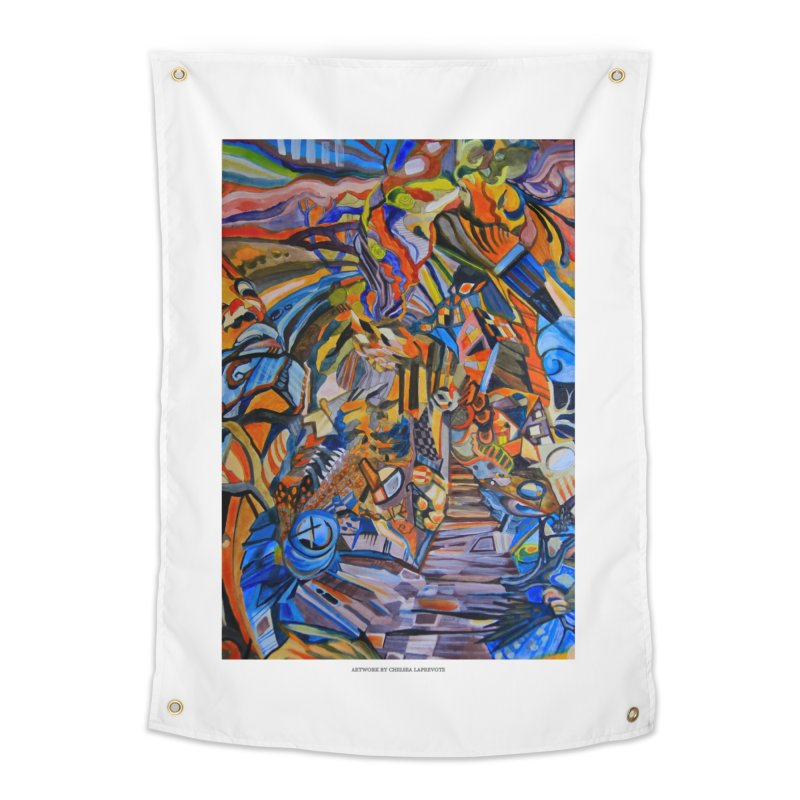 Claustrophobia (Color) Home Tapestry by Every Drop's An Idea's Artist Shop
