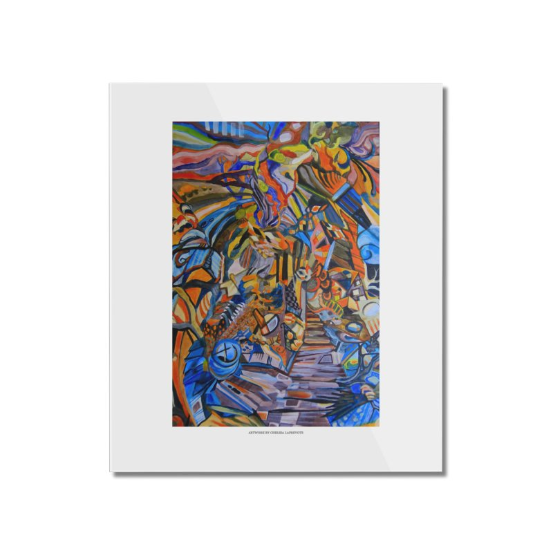 Claustrophobia (Color) Home Mounted Acrylic Print by Every Drop's An Idea's Artist Shop
