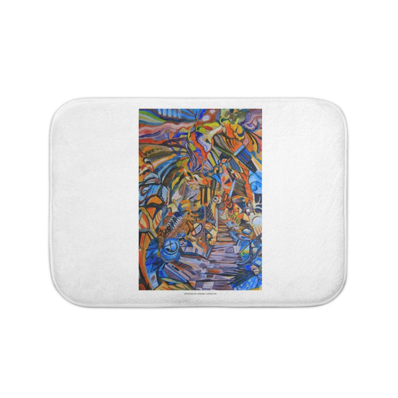 Claustrophobia (Color) Home Bath Mat by Every Drop's An Idea's Artist Shop