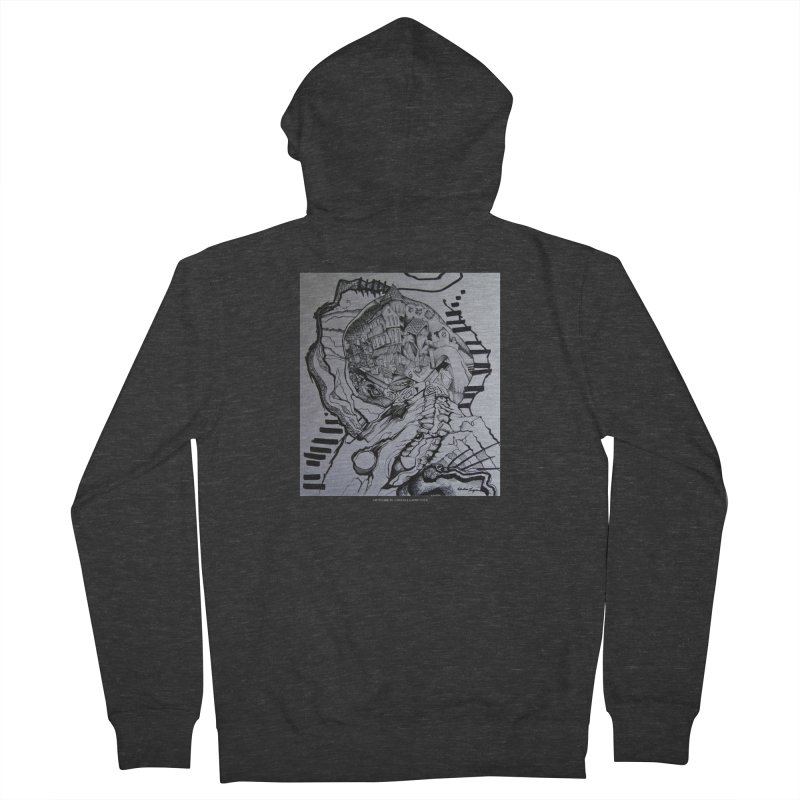 The Narrows Women's Zip-Up Hoody by Every Drop's An Idea's Artist Shop