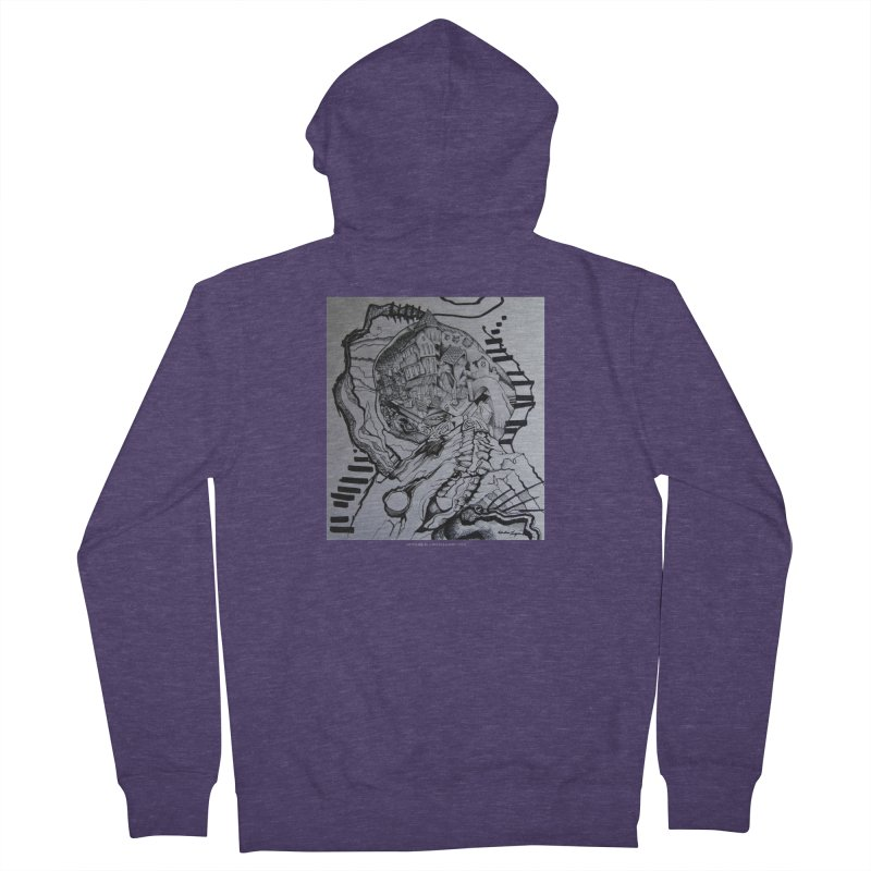 The Narrows Men's Zip-Up Hoody by Every Drop's An Idea's Artist Shop