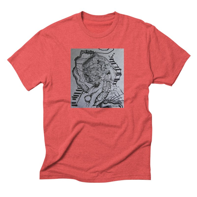 The Narrows Men's Triblend T-Shirt by Every Drop's An Idea's Artist Shop