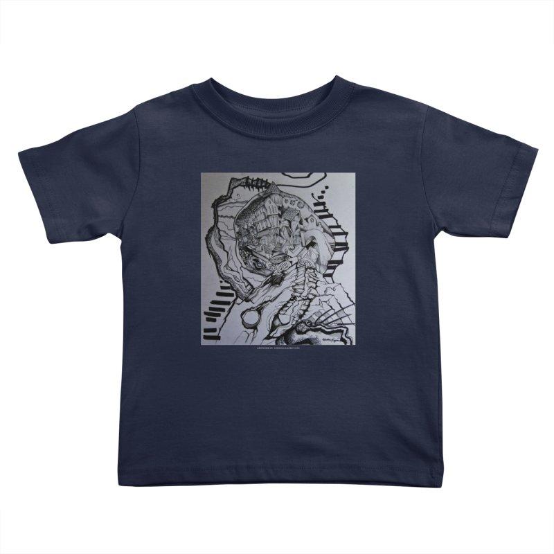 The Narrows Kids Toddler T-Shirt by Every Drop's An Idea's Artist Shop