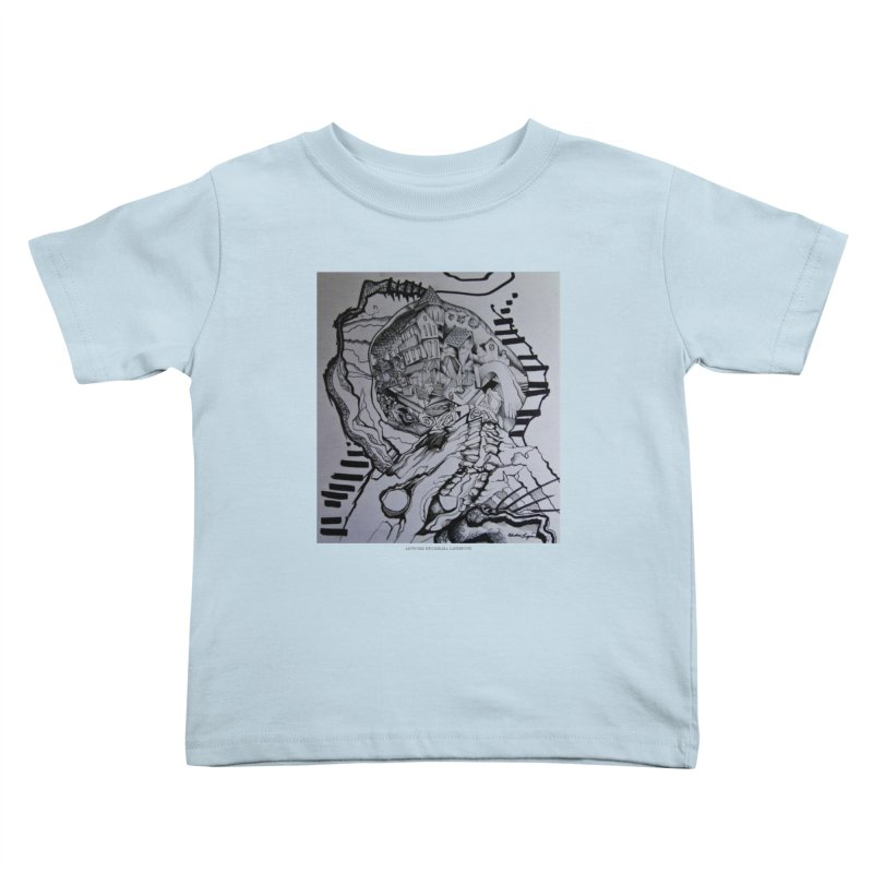 The Narrows Kids Toddler T-Shirt by Every Drop's An Idea's Artist Shop