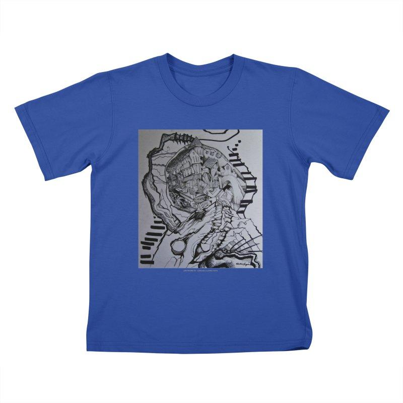 The Narrows Kids T-Shirt by Every Drop's An Idea's Artist Shop