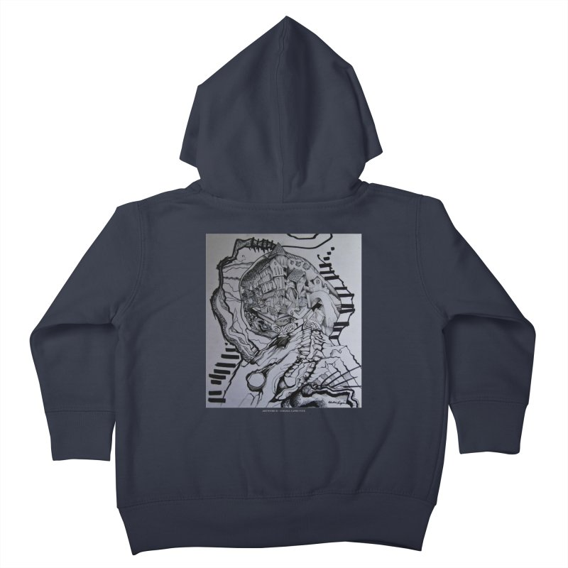 The Narrows Kids Toddler Zip-Up Hoody by Every Drop's An Idea's Artist Shop