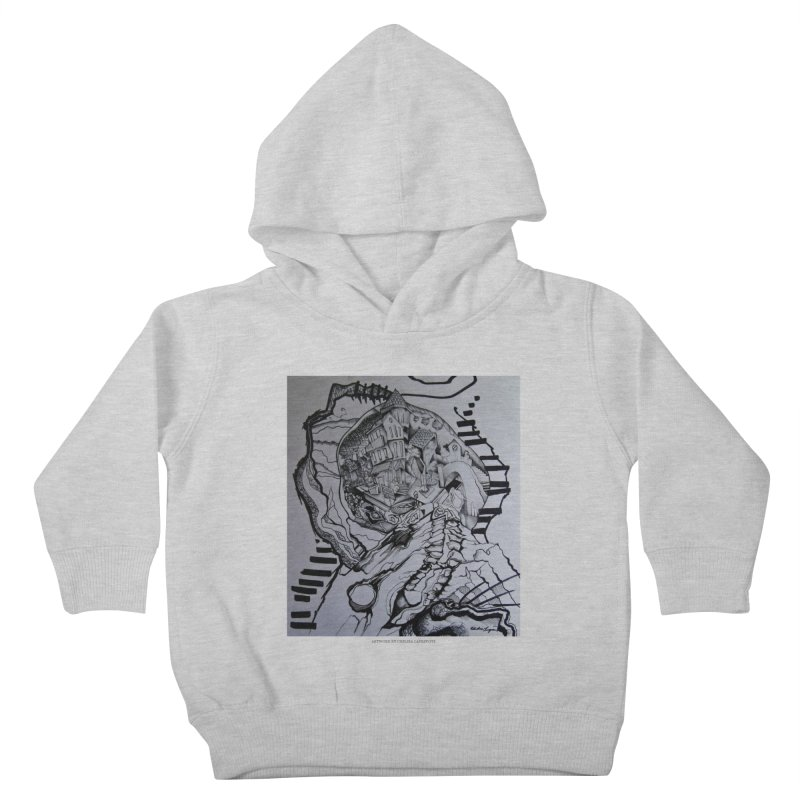 The Narrows Kids Toddler Pullover Hoody by Every Drop's An Idea's Artist Shop