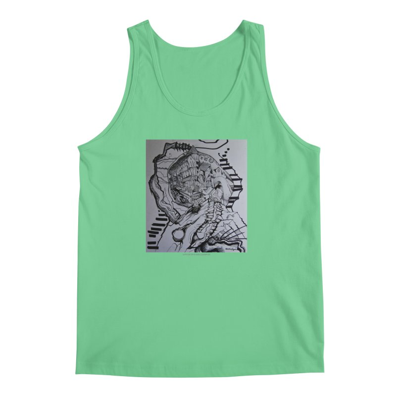 The Narrows Men's Tank by Every Drop's An Idea's Artist Shop