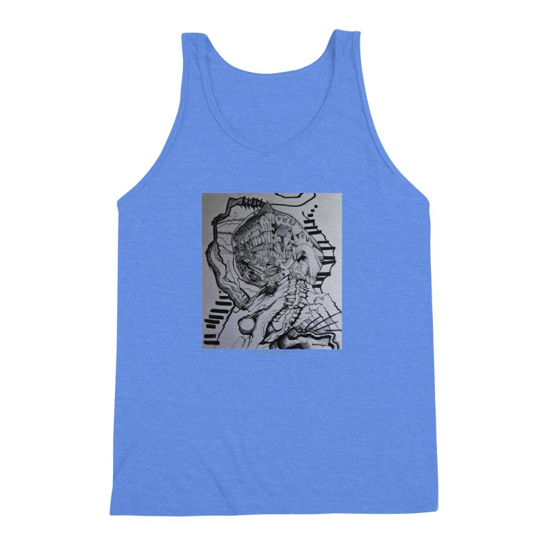 The Narrows Men's Triblend Tank by Every Drop's An Idea's Artist Shop