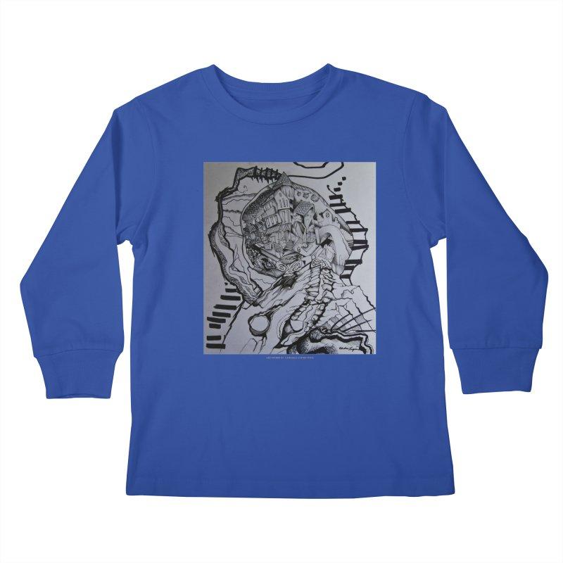The Narrows Kids Longsleeve T-Shirt by Every Drop's An Idea's Artist Shop