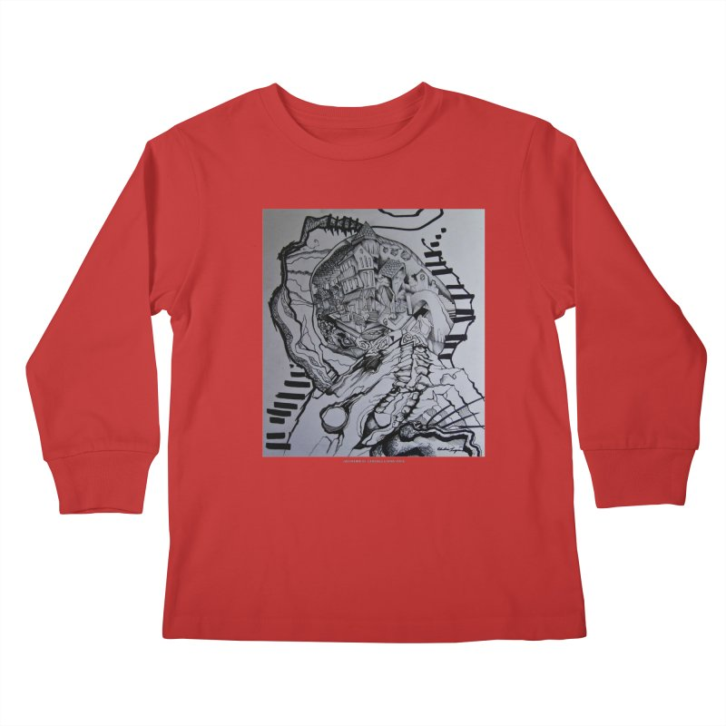 The Narrows Kids Longsleeve T-Shirt by Every Drop's An Idea's Artist Shop