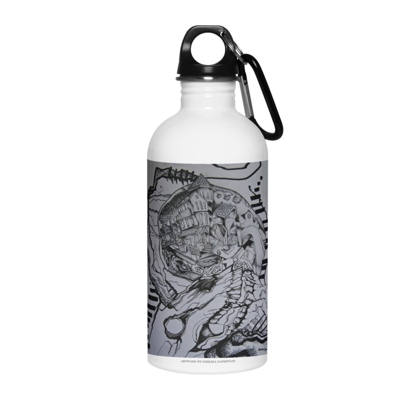 The Narrows Accessories Water Bottle by Every Drop's An Idea's Artist Shop