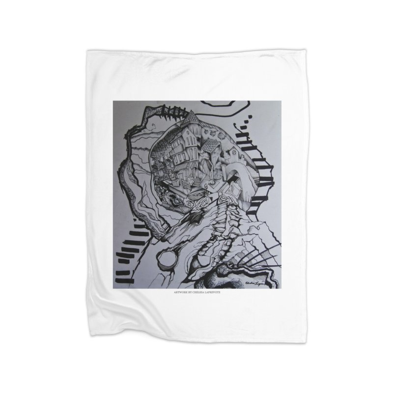 The Narrows Home Fleece Blanket by Every Drop's An Idea's Artist Shop
