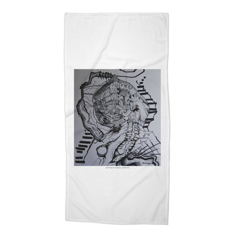 The Narrows Accessories Beach Towel by Every Drop's An Idea's Artist Shop
