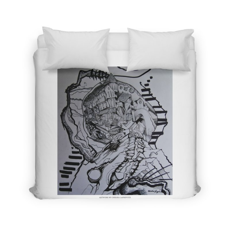 The Narrows Home Duvet by Every Drop's An Idea's Artist Shop