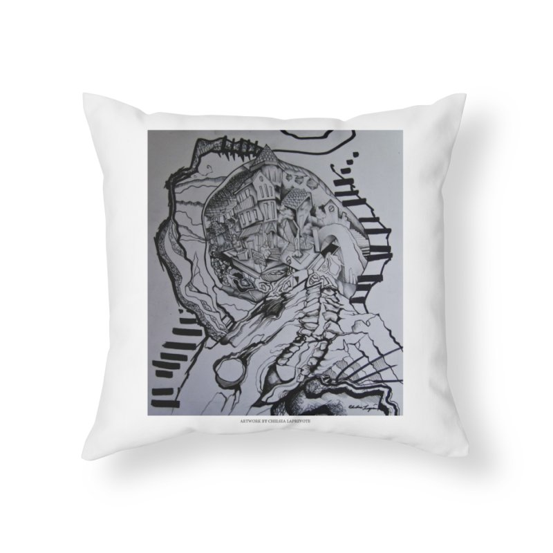 The Narrows Home Throw Pillow by Every Drop's An Idea's Artist Shop