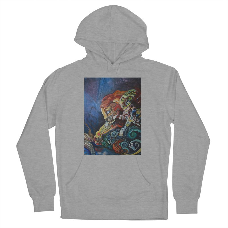 The Lion and The Lamb Women's Pullover Hoody by Every Drop's An Idea's Artist Shop