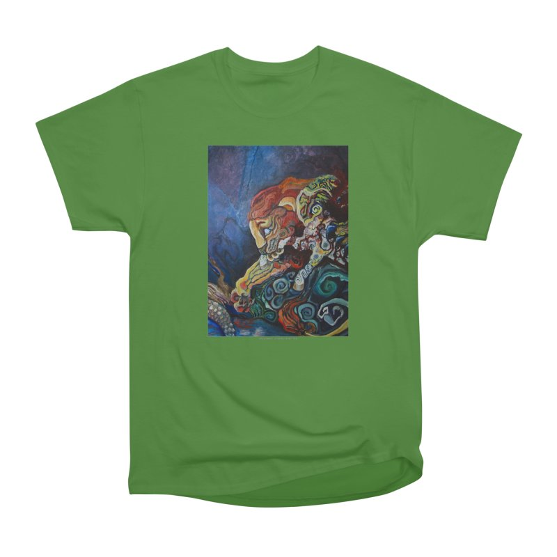 The Lion and The Lamb Men's Classic T-Shirt by Every Drop's An Idea's Artist Shop
