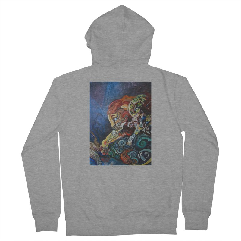 The Lion and The Lamb Women's Zip-Up Hoody by Every Drop's An Idea's Artist Shop