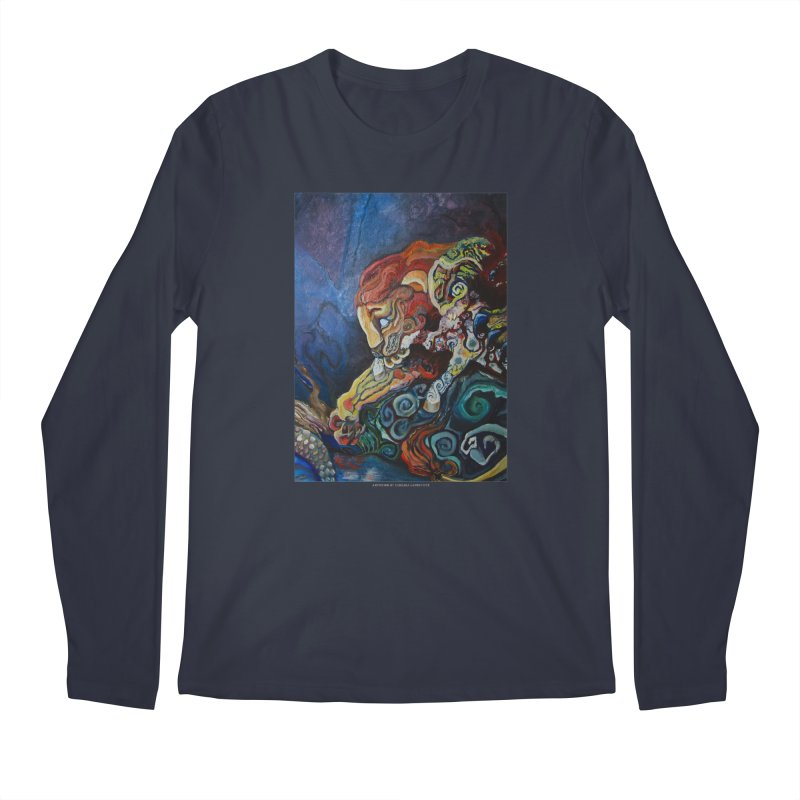 The Lion and The Lamb Men's Longsleeve T-Shirt by Every Drop's An Idea's Artist Shop