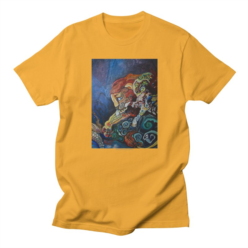 The Lion and The Lamb Women's Unisex T-Shirt by Every Drop's An Idea's Artist Shop