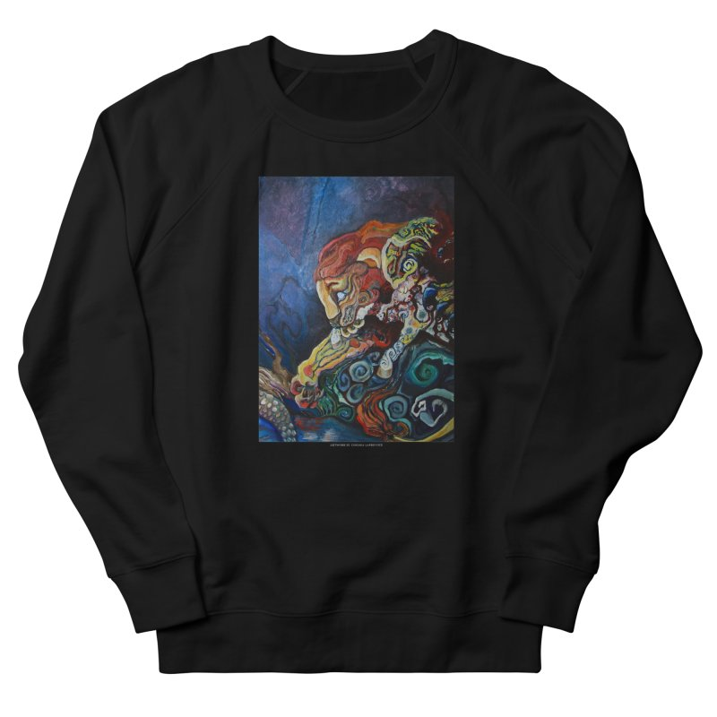 The Lion and The Lamb Women's Sweatshirt by Every Drop's An Idea's Artist Shop