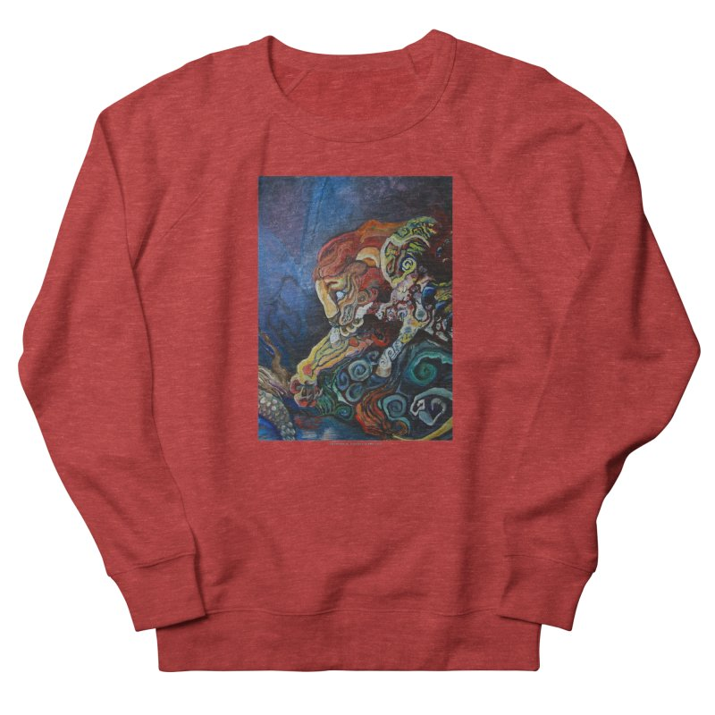 The Lion and The Lamb Men's Sweatshirt by Every Drop's An Idea's Artist Shop