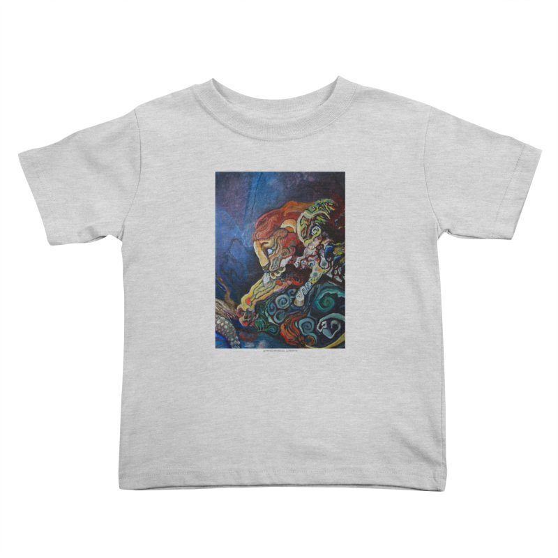 The Lion and The Lamb Kids Toddler T-Shirt by Every Drop's An Idea's Artist Shop