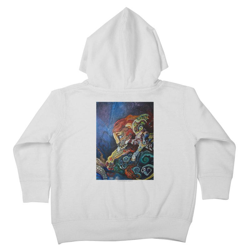 The Lion and The Lamb Kids Toddler Zip-Up Hoody by Every Drop's An Idea's Artist Shop