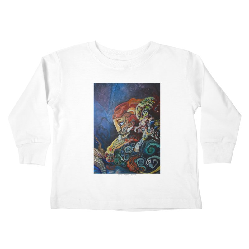 The Lion and The Lamb Kids Toddler Longsleeve T-Shirt by Every Drop's An Idea's Artist Shop