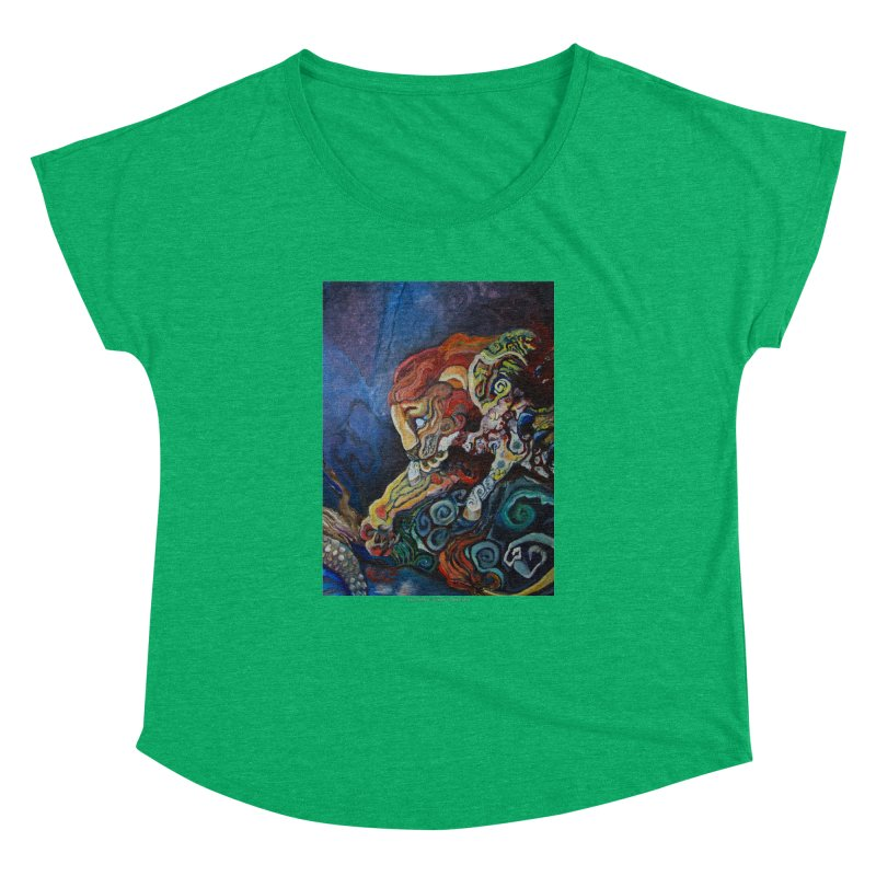 The Lion and The Lamb Women's Dolman by Every Drop's An Idea's Artist Shop